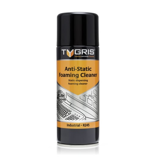 Anti Static Products : Tygris anti static foaming cleaner r