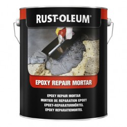 Rust-oleum epoxy mortar For filling holes, rebuilding ramps, edges, steps etc
