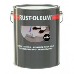 Rust-oleum Floor Paint for painting old concrete