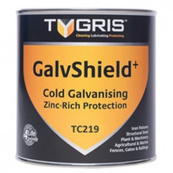 Tygris Galvshield to protect all ferrous metals and prevent rust creep