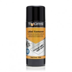 Tygris Label Remover NSF Penetrates and dissolves adhesives