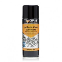 Tygris Synthetic Chain Lubricant NSF High and low temperature chain lubricant.