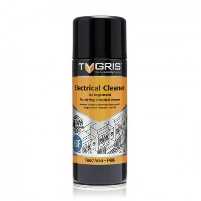Tygris Electrical Cleaner NSF F406 - Fast drying electrical cleaner