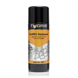 Tyrgris Graffiti Remover - Rapid penetration for fast removal of graffiti